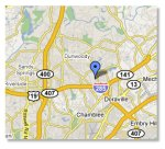 map to atlanta psychiatrist dr darvin hege